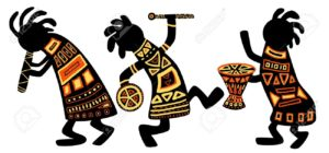 Dancing-musicians-African-national-patterns-Stock-Photo-africa-djembe-drum